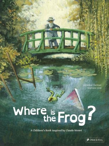 Ou est passée Rainette ?, Stephane Girel, Claude Monet, L'Elan Vert, Peinture, Illustration, Livre Jeunesse