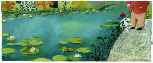 Où est passée rainette, Stéphane Girel, Claude Monet, Nymphéas