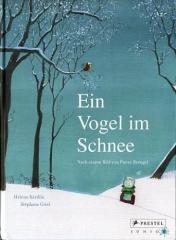 Stephane Girel, L'Elan Vert, Oiseau en Hiver, Illustrateur, Livre Jeunesse, Bruegel, Peinture, Peintre